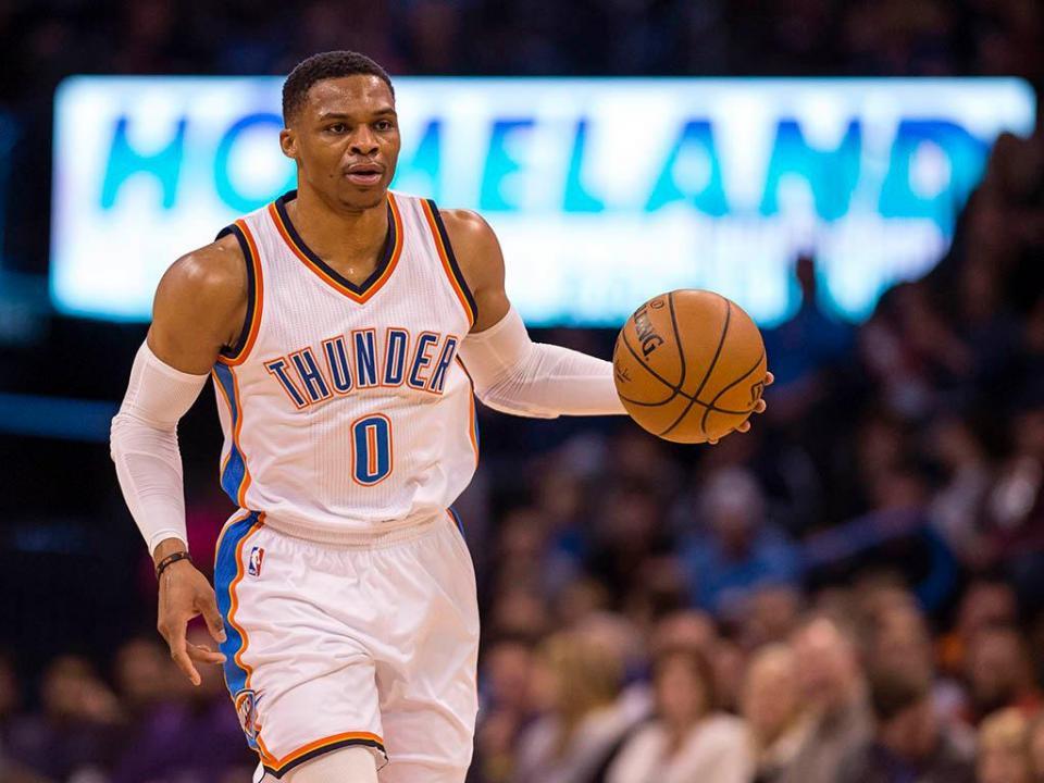 NBA: Russell Westbrook consegue 40º triplo-duplo e fica a um do recorde