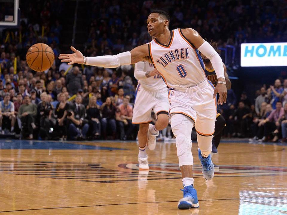 39º triplo-duplo de Westbrook não evita derrota dos Thunder perante os Spurs