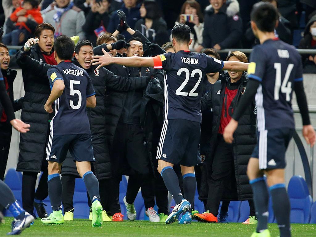 Japão bate Austrália e garante classificação na Copa do Mundo