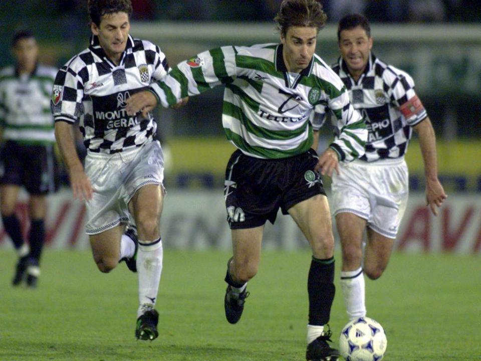 Edmilson (ex-FC Porto e Sporting) vai trabalhar n' Os Nazarenos