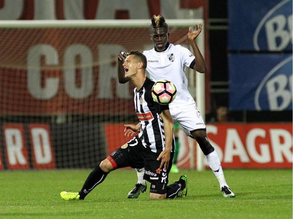 Nacional-V. Guimarães, 1-2 (destaques)