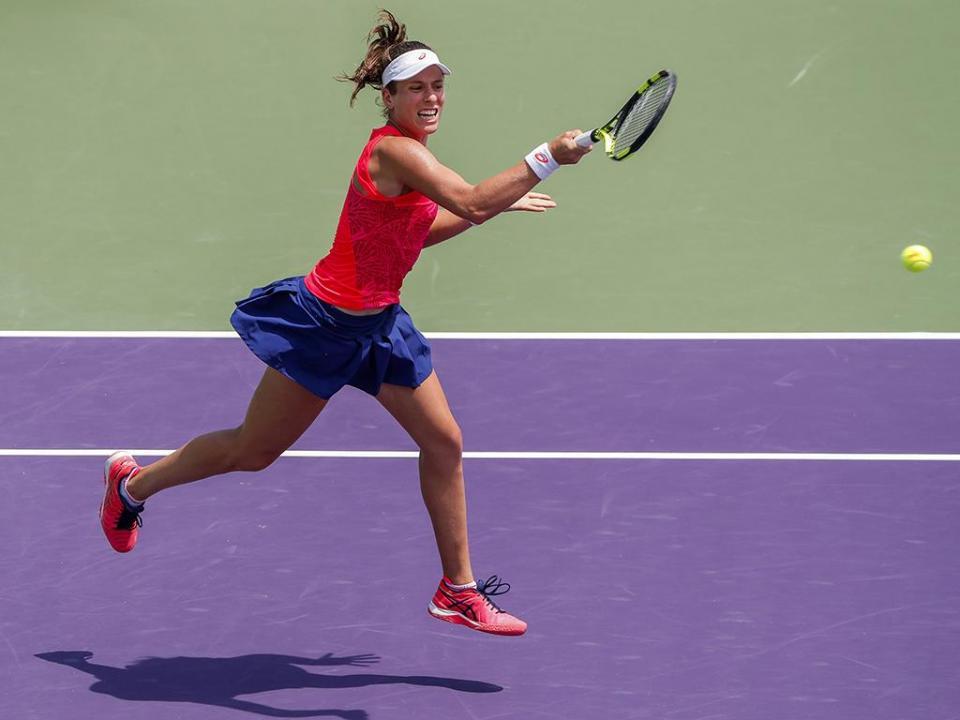 Ténis: Johanna Konta vence Wozniacki na final de Miami