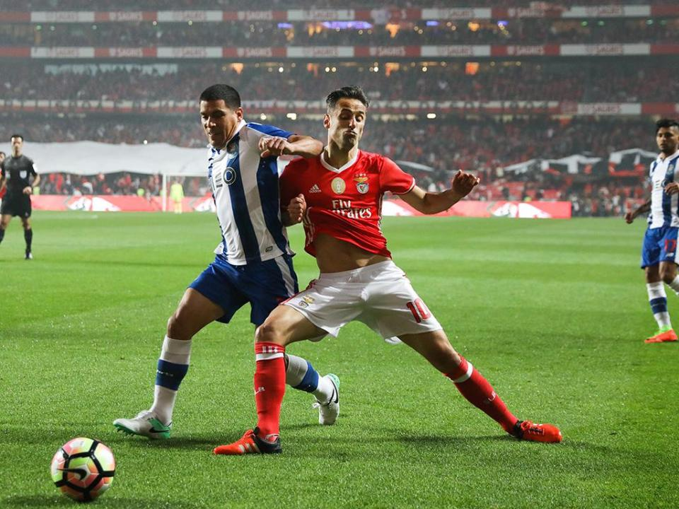Benfica-FC Porto, 1-1 (resultado final)