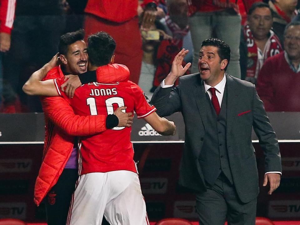Benfica-FC Porto, 1-1 (destaques das águias)