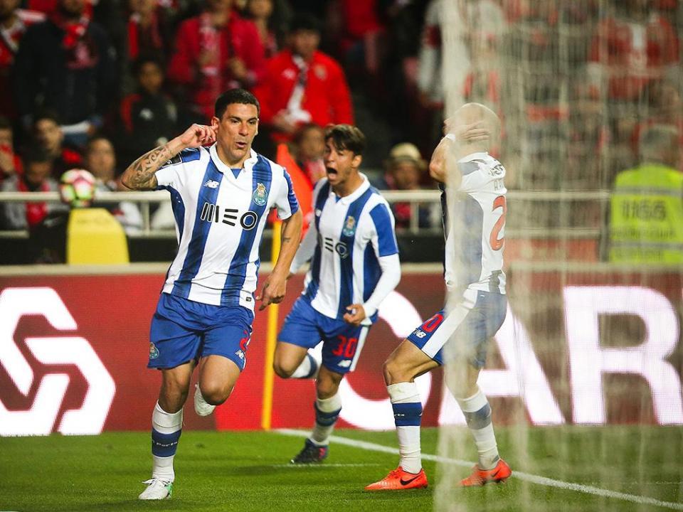 Benfica-FC Porto, 1-1 (destaques dos dragões)