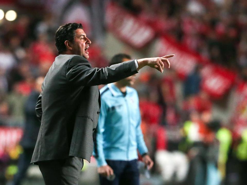 Rui Vitória: «Temos de ter mais estabilidade nos jogos»