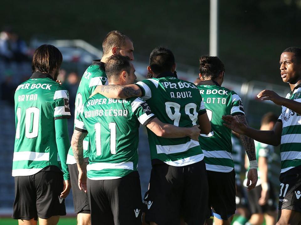 Arouca-Sporting, 1-2 (destaques)