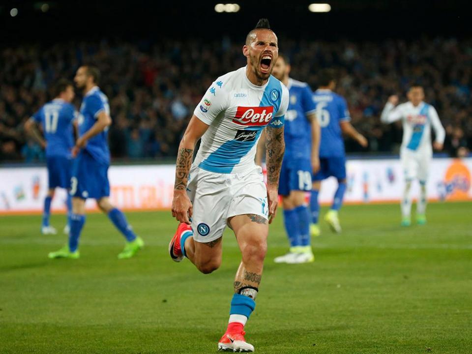 Juventus empata no San Paolo com o Nápoles mas continua tranquila