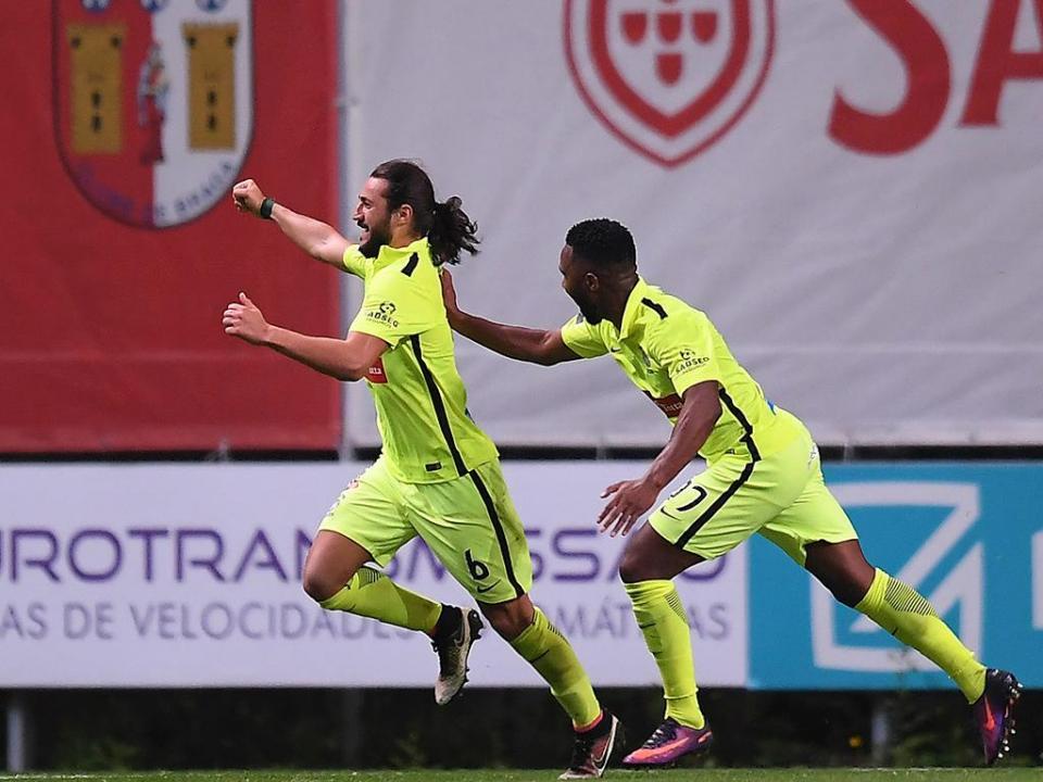 Sp. Braga-Marítimo, 3-3 (destaques)