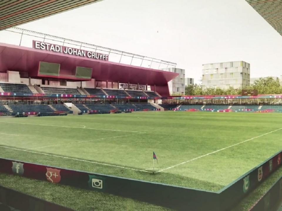VÍDEO: Barcelona apresenta Estádio Johan Cruyff