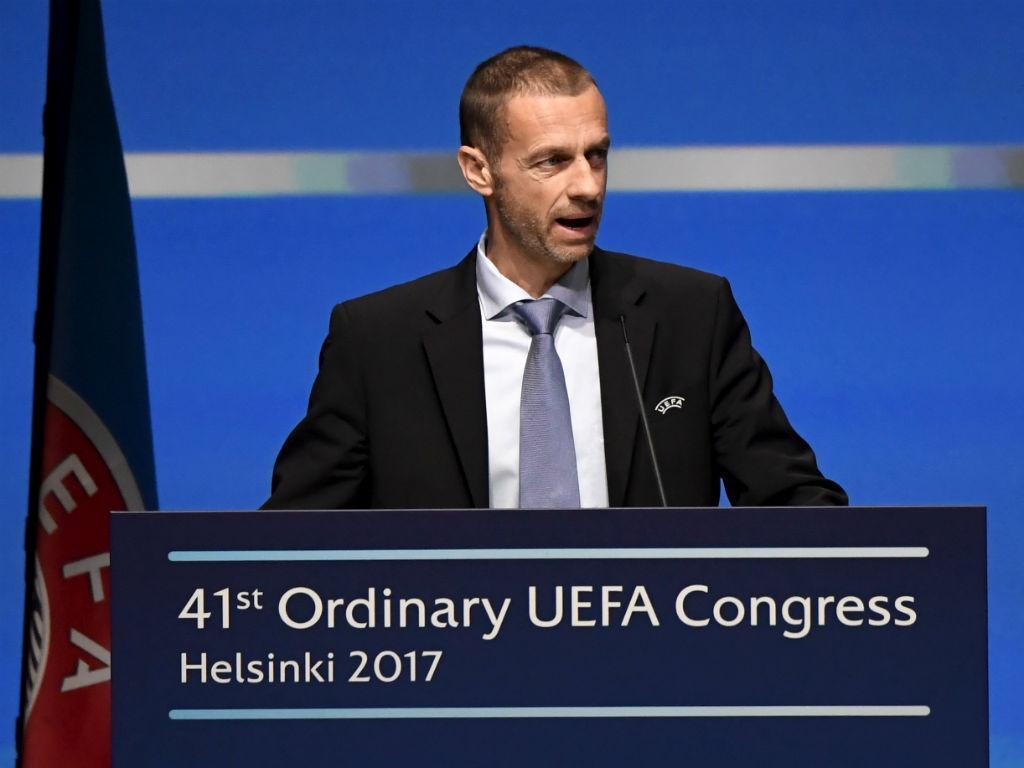 Presidente da Uefa rejeita árbitro de vídeo na Copa de 2018