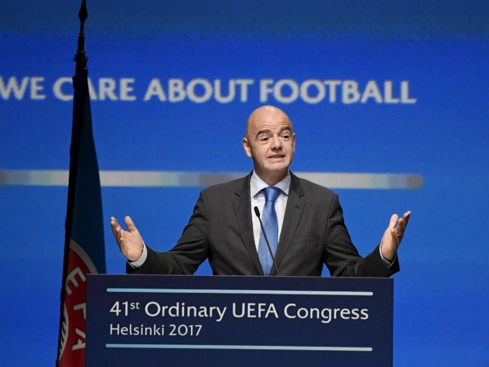 Presidente da FIFA envia condolências ao povo português