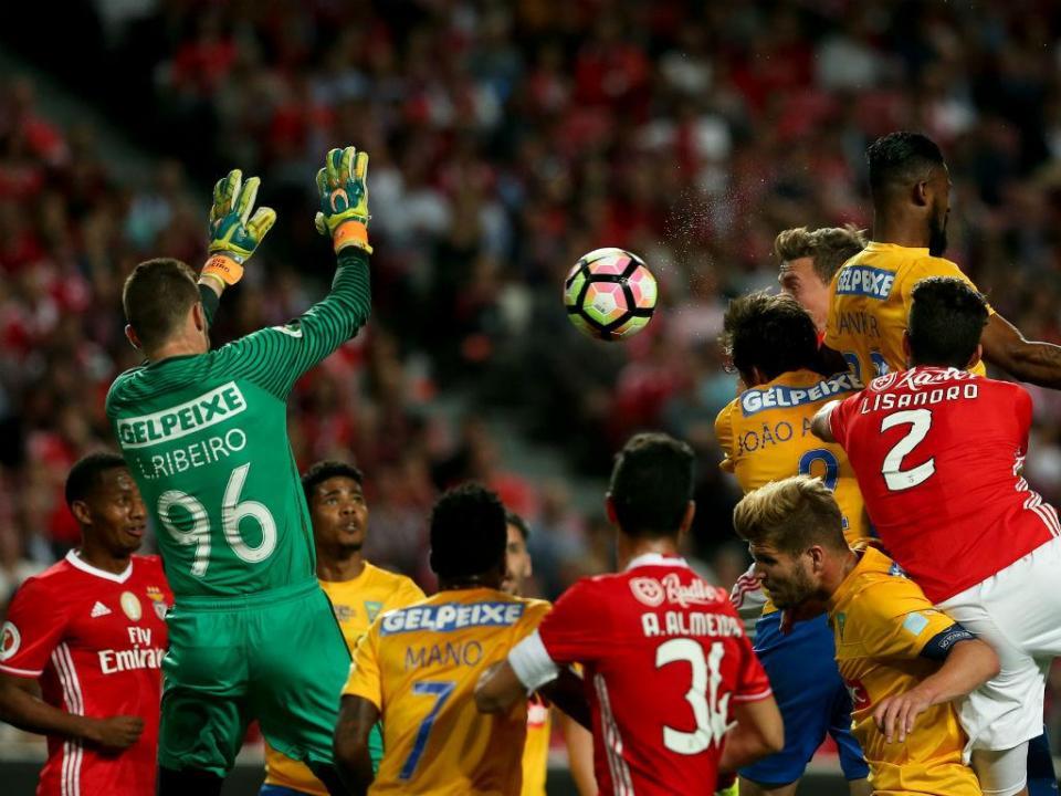 TP: Benfica-Estoril, 3-3 (destaques)