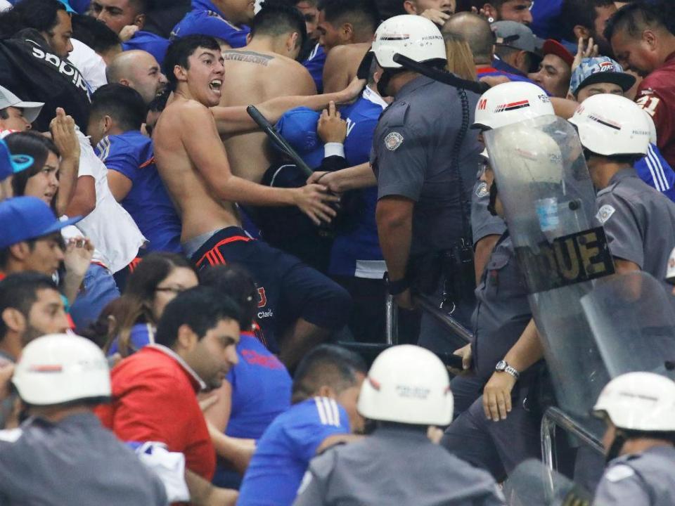 Polícia de São Paulo detém 26 adeptos de clube chileno por desacatos