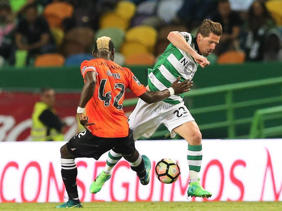Sporting: Adrien agradece «grande receção dos adeptos»