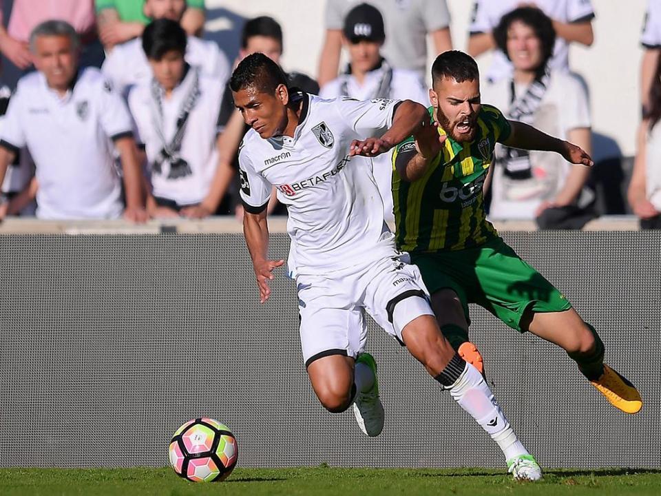 V. Guimarães-Tondela, 2-1 (resultado final)