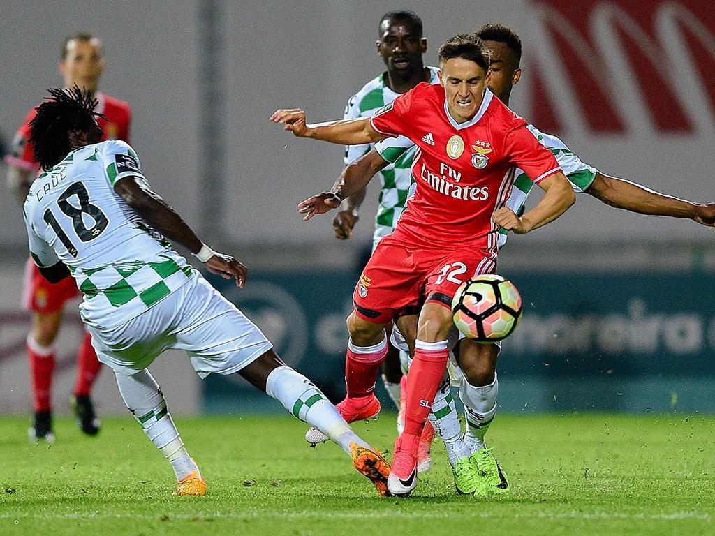 Moreirense-Benfica, 0-1 (destaques)