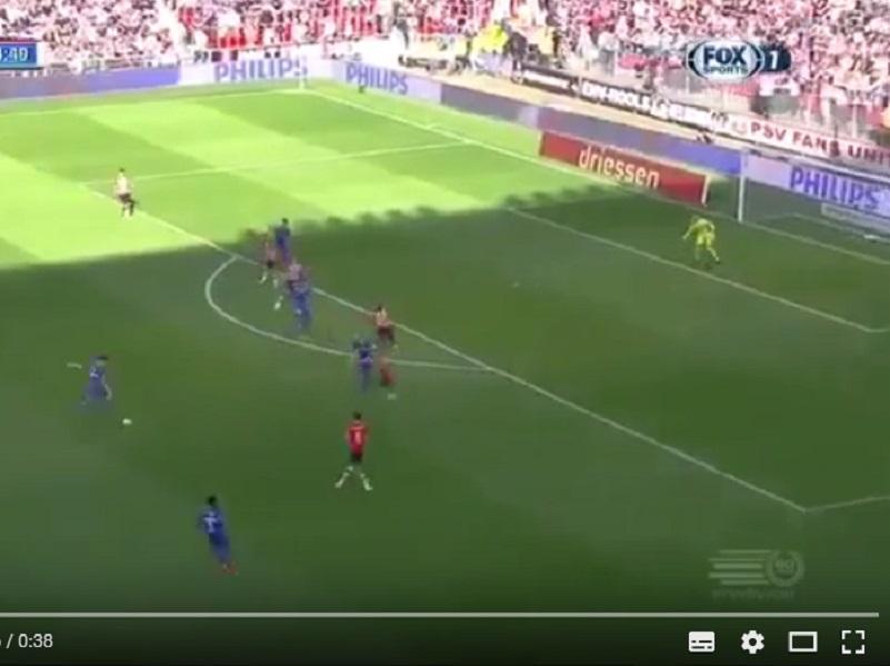 VÍDEO: um grande golo que só o árbitro é que não viu