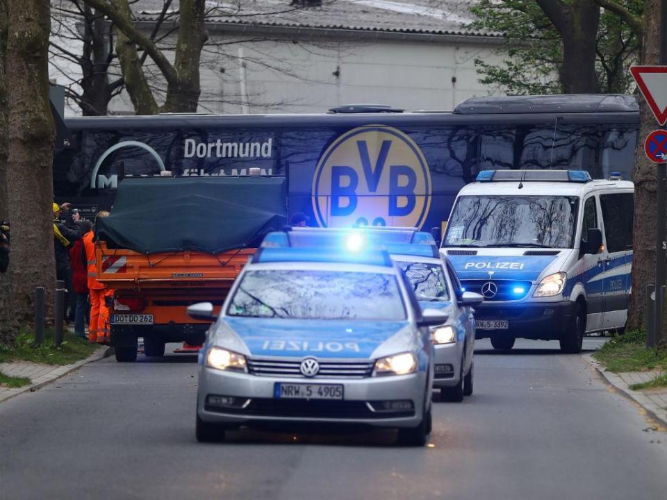 Detido suspeito do atentado contra Borussia Dortmund