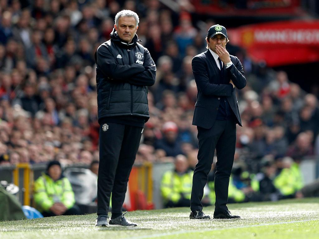 Mourinho e Conte recusam falar um do outro