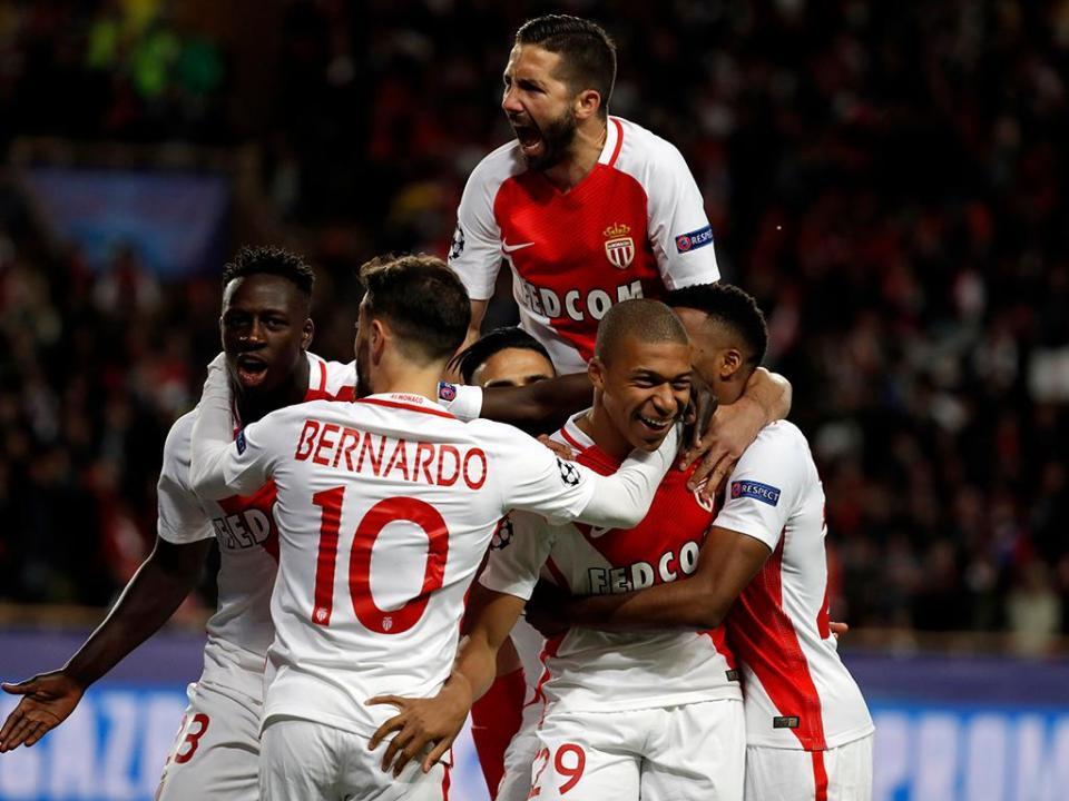 Mónaco-St. Étienne (Equipas): Bernardo e Moutinho para carimbar título