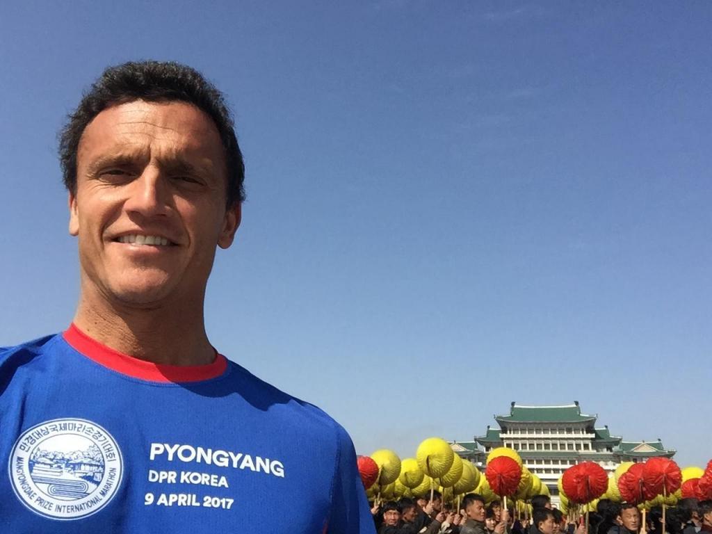 O comissário da TAP que correu a maratona de Pyongyang