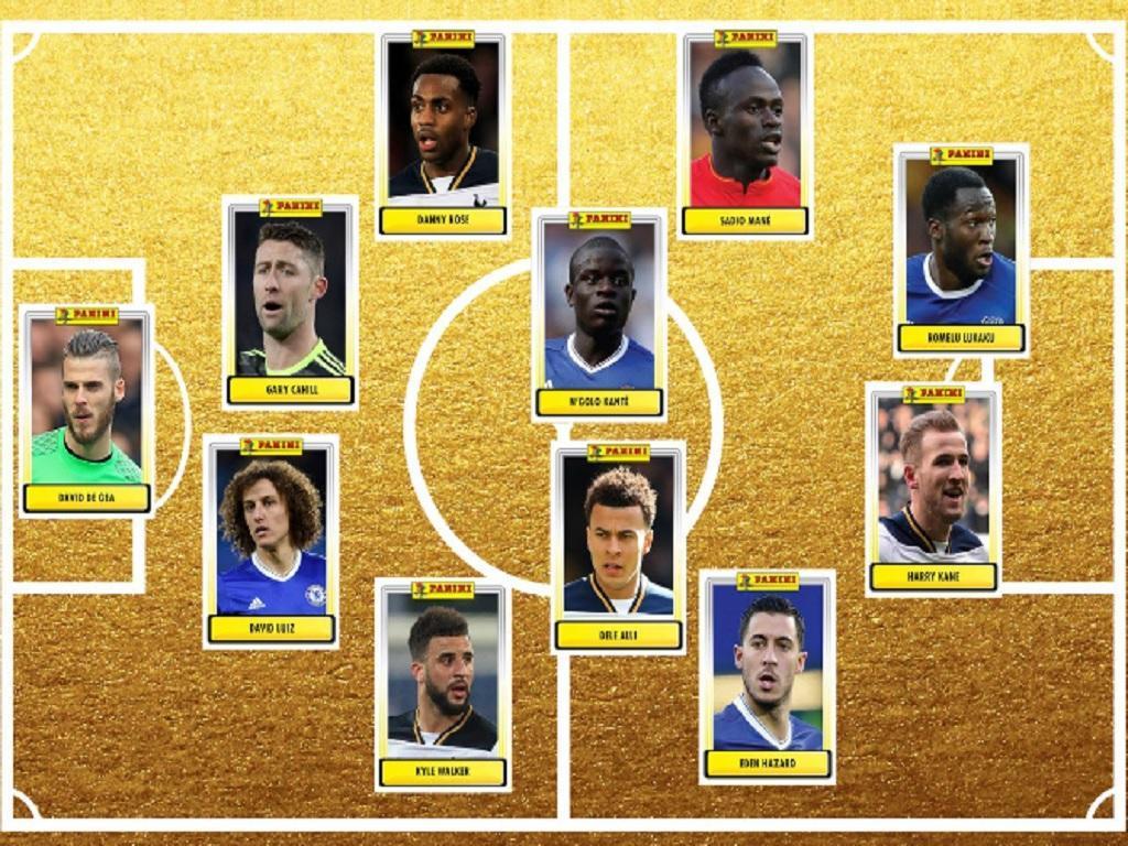 Liga inglesa: Chelsea e Tottenham dominam onze do ano