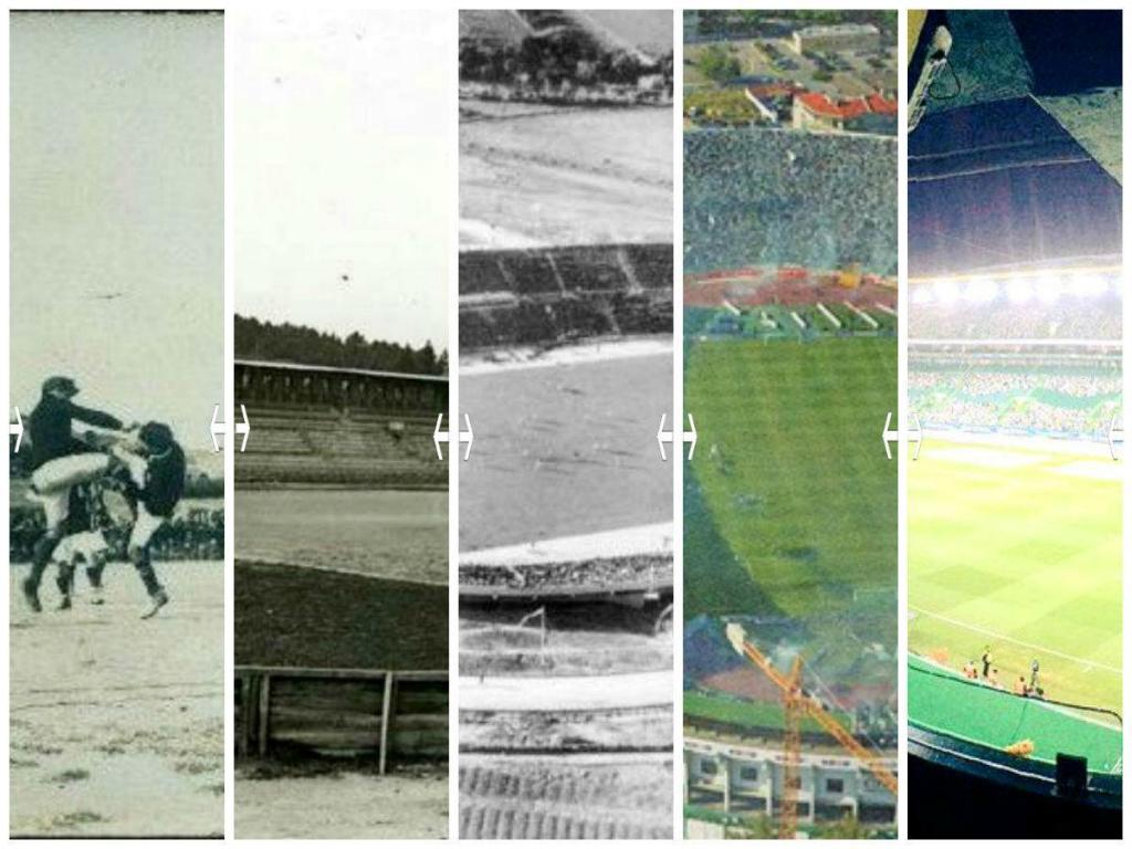 Viagem aos estádios por onde passou o dérbi (ou ao que resta deles)