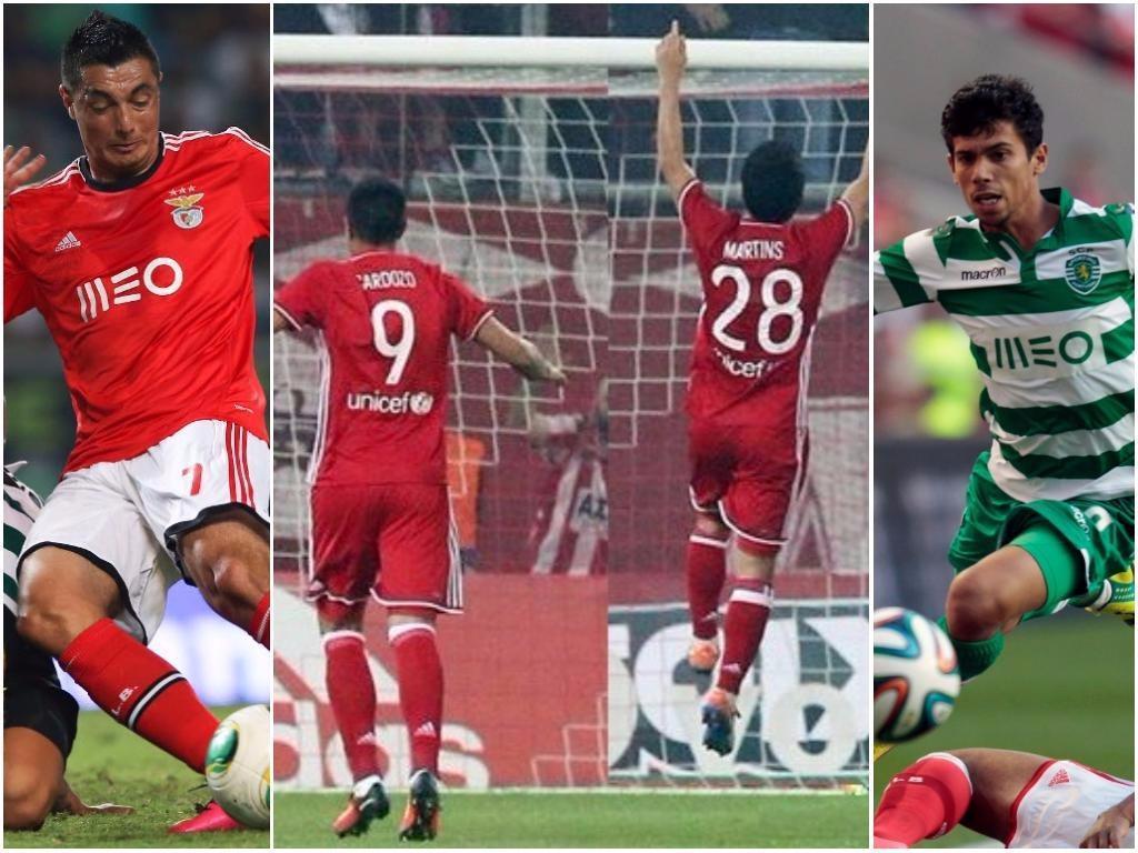 Eram rivais, agora colegas: Martins e Cardozo ainda vivem o Dérbi