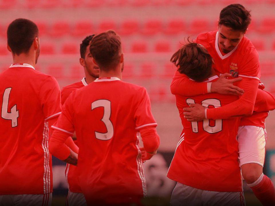 Juniores: Benfica vence Sp. Braga no Seixal