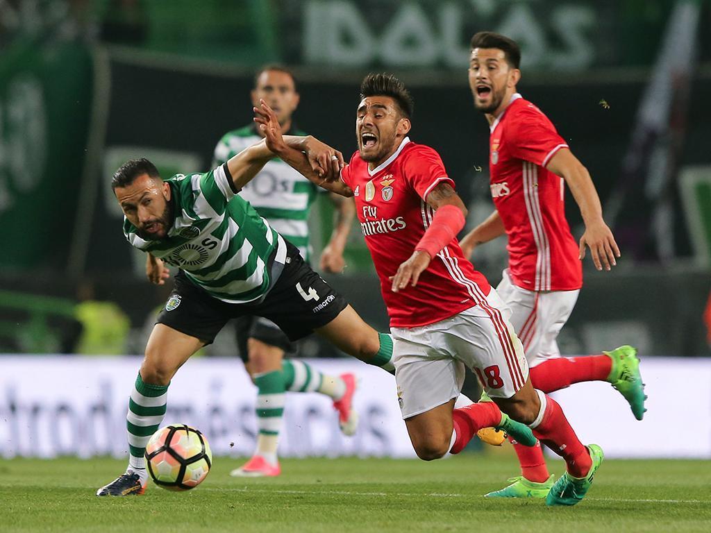 Luisão falha dérbi com o Sporting