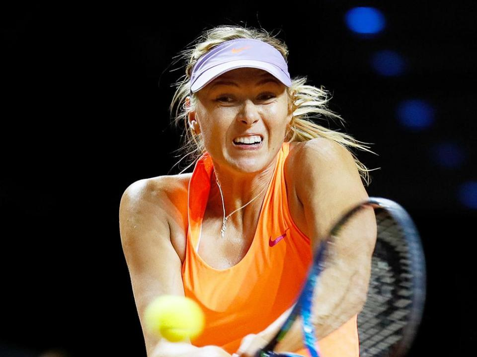 Ténis: Sharapova fora do Roland Garros