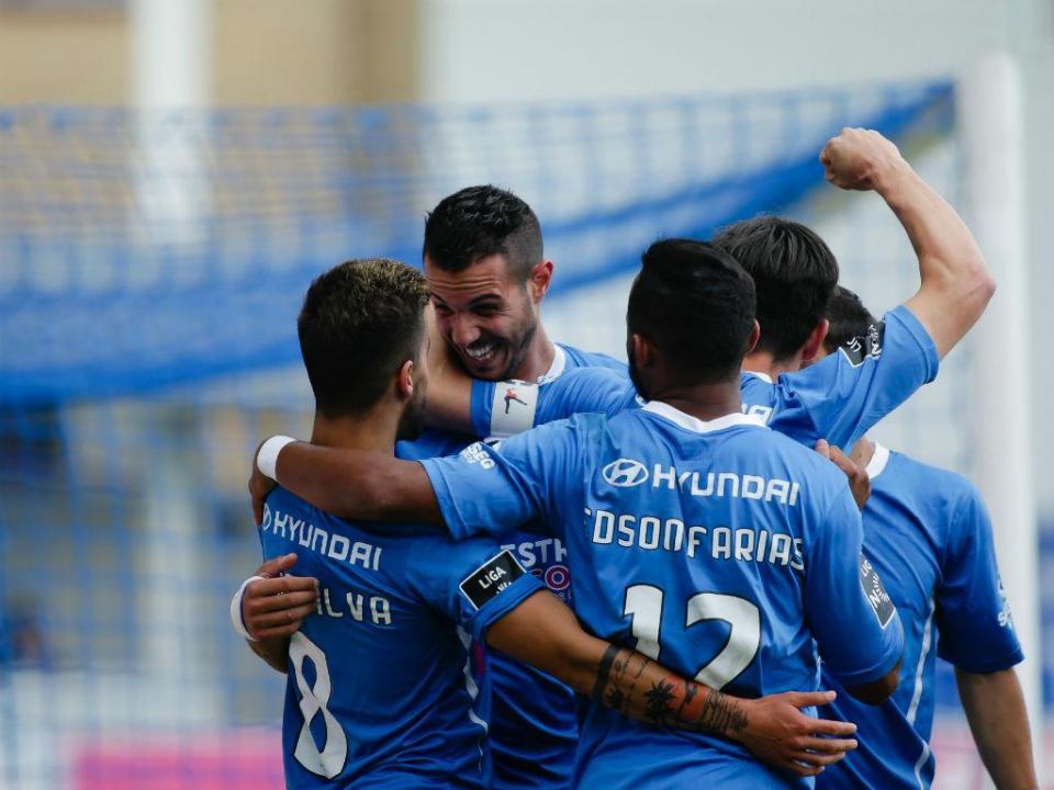 Feirense-Marítimo, 2-1 (destaques)