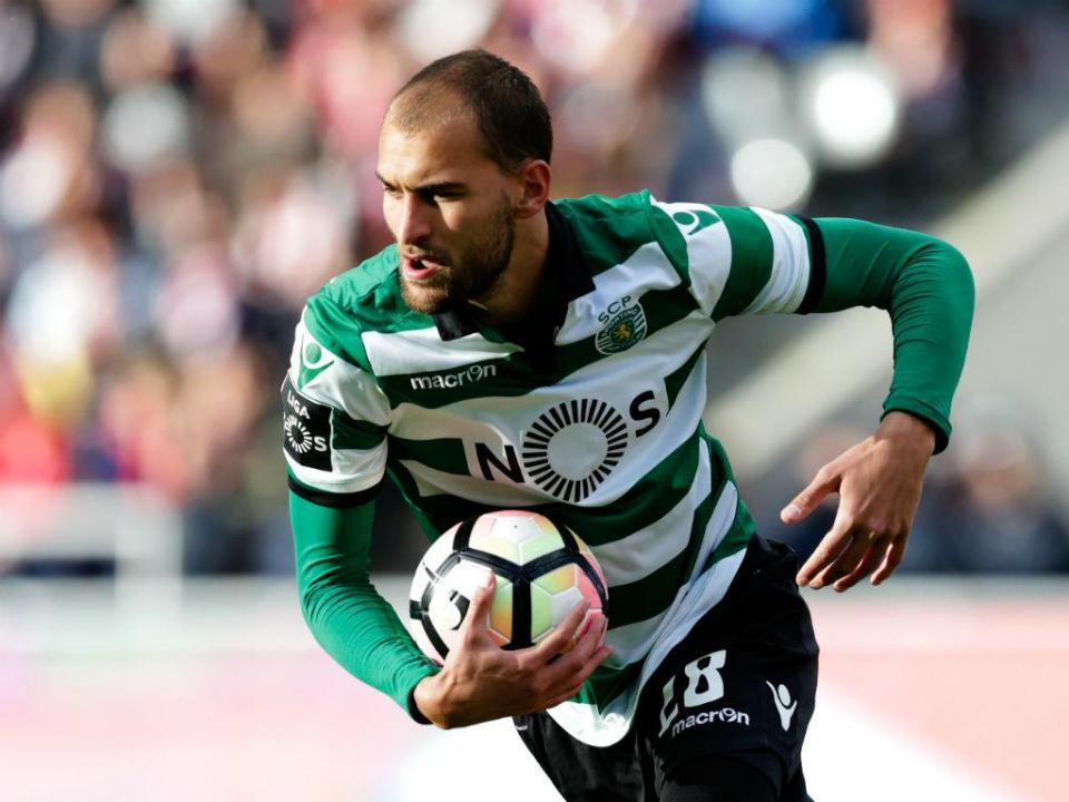 Sporting: Bas Dost pré-convocado para seleção holandesa