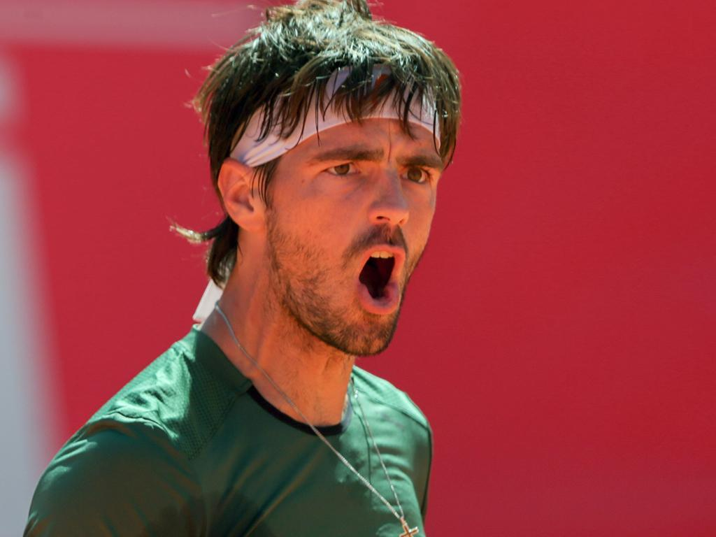 Ténis: Gastão Elias na segunda ronda do «challenger» de Todi