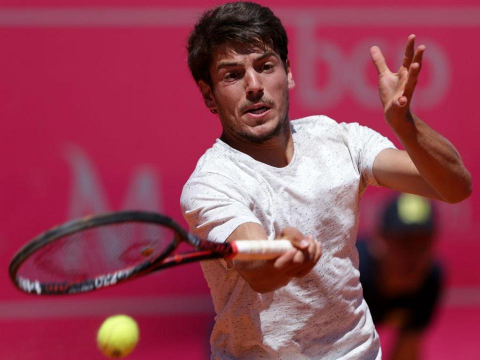 Ténis: João Domingues na segunda ronda de Prostejov