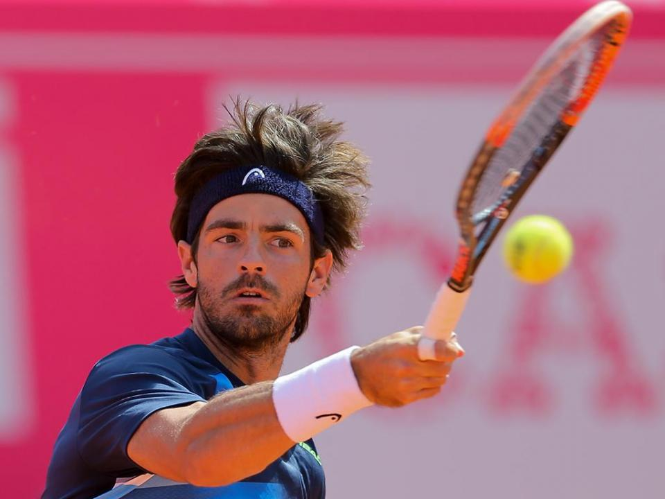 Gastão Elias nos oitavos de final do challenger de Le Gosier