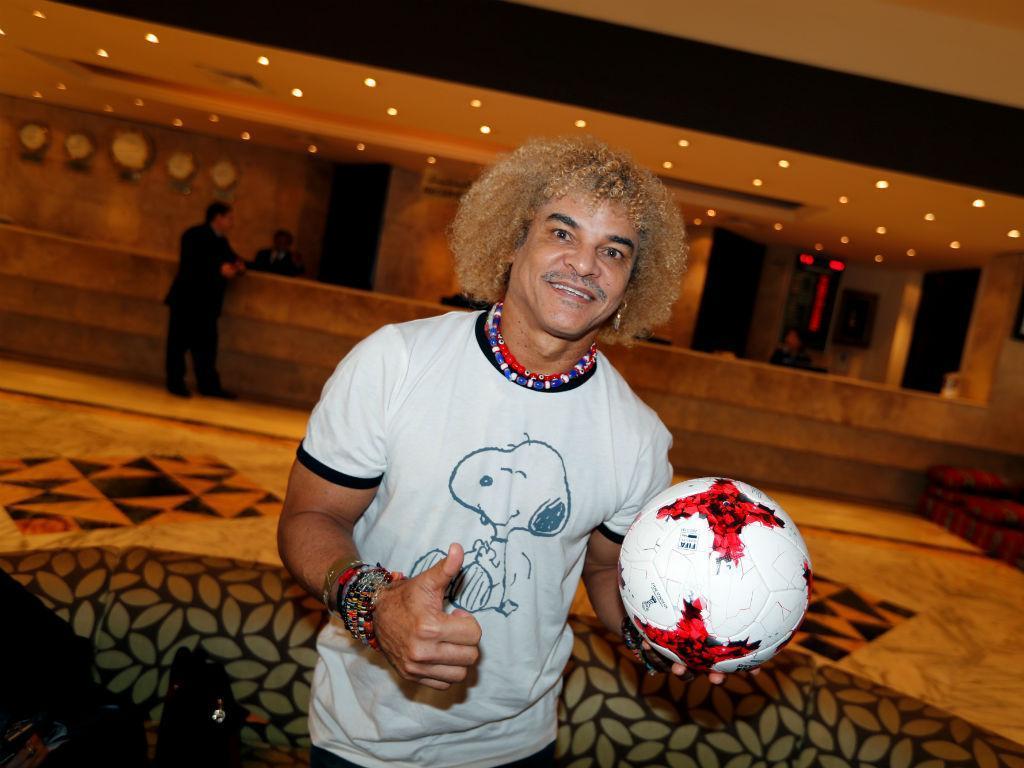 Valderrama promete cortar o cabelo… se a Colômbia vencer o Mundial