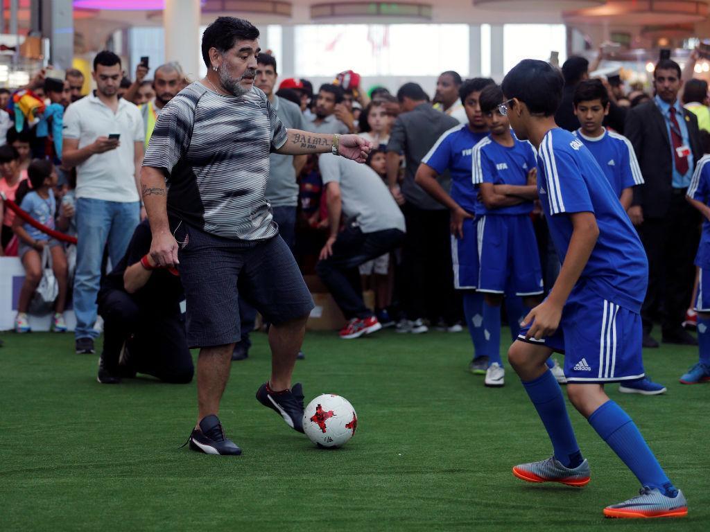 Maradona: «Gostava que Cristiano Ronaldo fosse argentino»