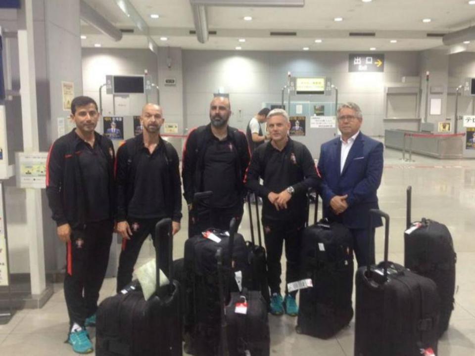 Mundial: Sub-20 portugueses já estão na Coreia do Sul