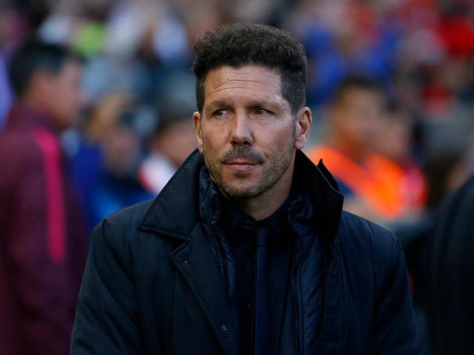 Simeone: «Esta é uma liga impossível para quem não é Real ou Barça»