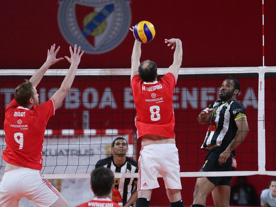 Voleibol: Benfica bate ACS Zalau e avança na Taça Challenge