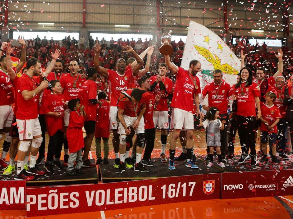 Voleibol: Benfica nos oitavos da Taça Challenge