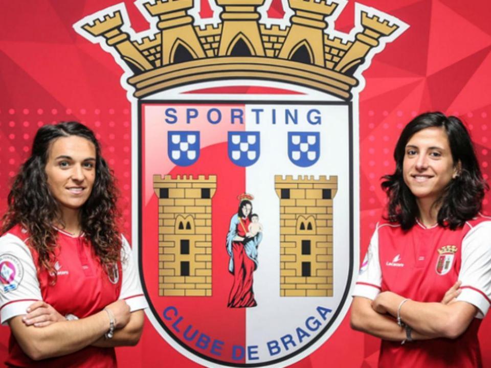Futebol Feminino: Sp. Braga assegura duas internacionais portuguesas