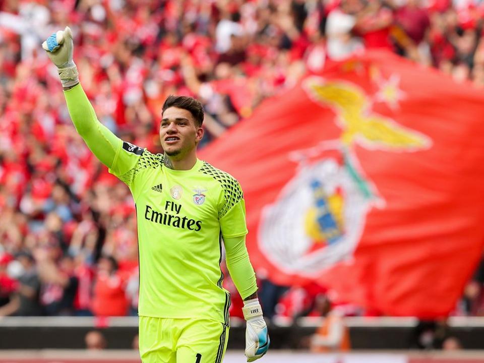 Benfica: Ederson chamado à seleção brasileira