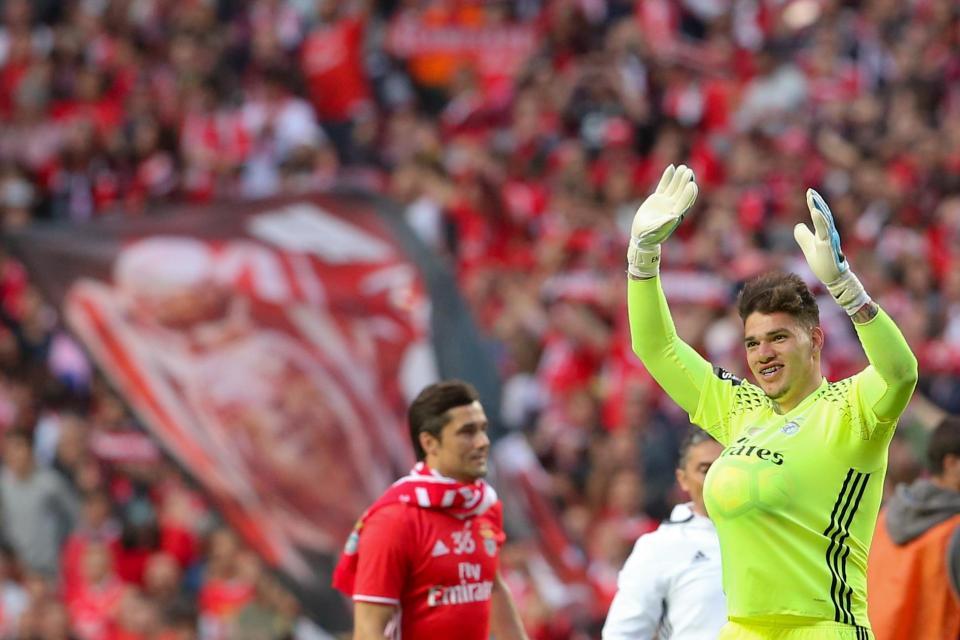 Ederson: «Espero um dia voltar ao Benfica»