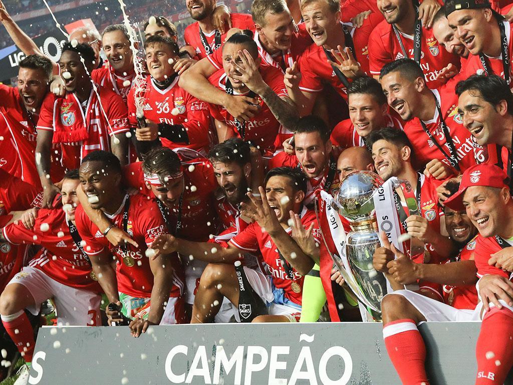 Benfica tem o melhor tetra da História