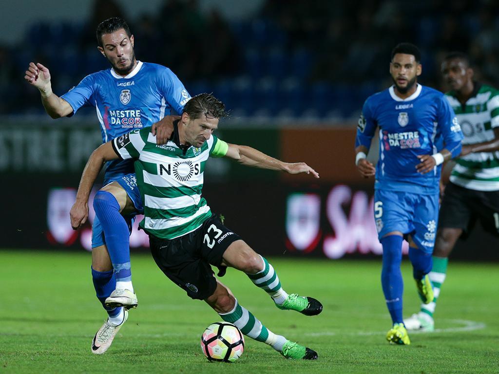 Feirense Sporting   Cronica