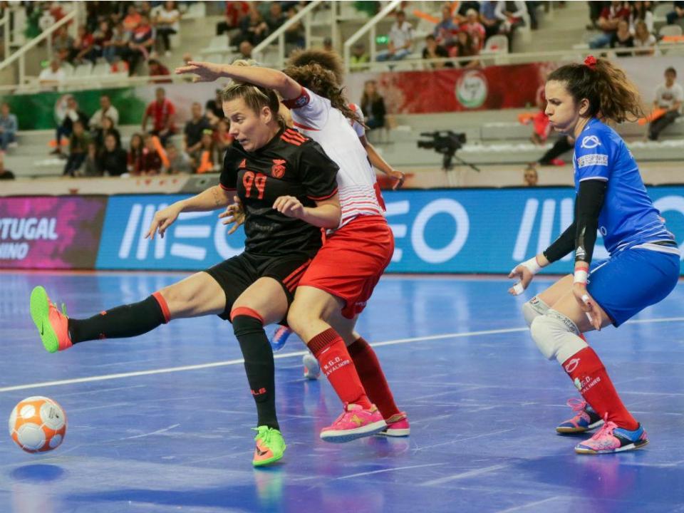 Futsal feminino  dérbi nas meias-finais da Taça de Portugal ... 838e949681d10