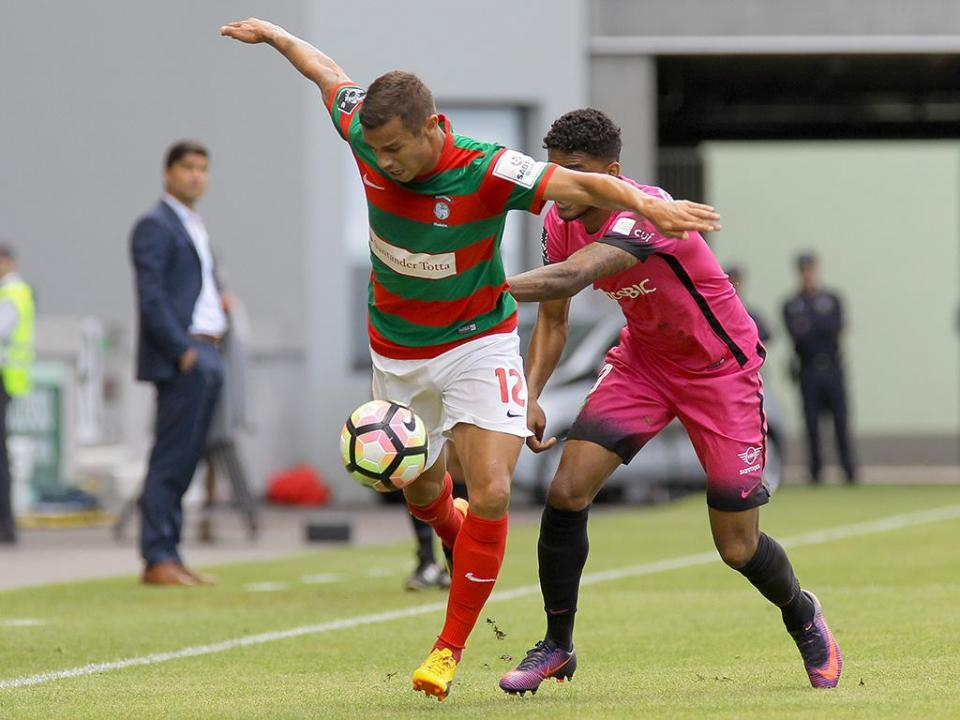 Marítimo-Estoril, 1-1 (resultado final)